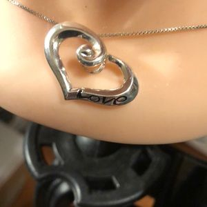 Jewelry - Sterling Heart Pendant